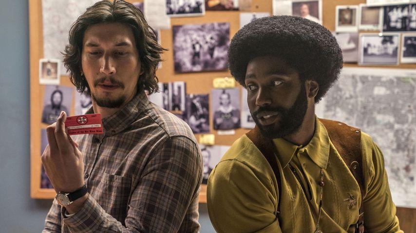 "Adam Driver und John David Washington in dem Film ""BlacKkKlansman"""