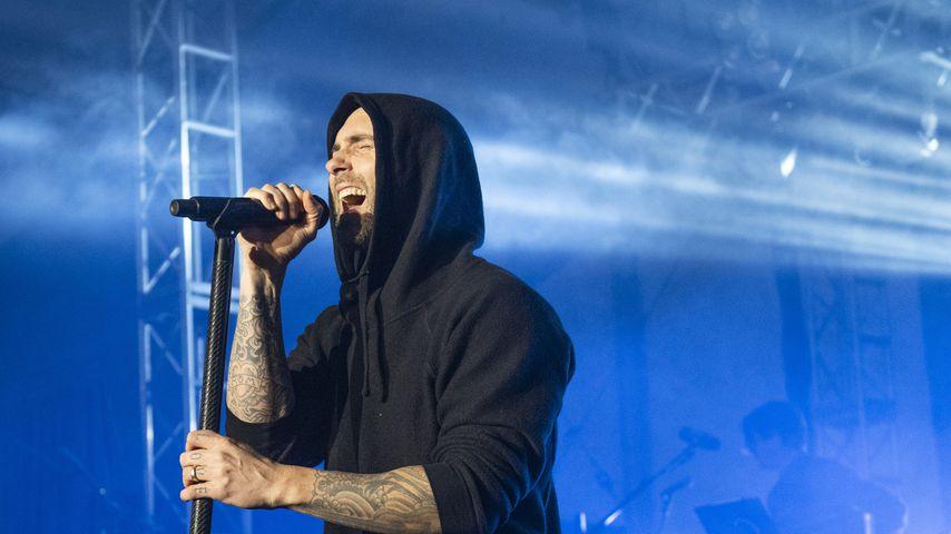 Adam Levine bei einem Maroon 5-Konzert im November 2018