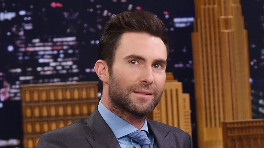 "Adam Levine bei ""The Tonight Show Starring Jimmy Fallon"""
