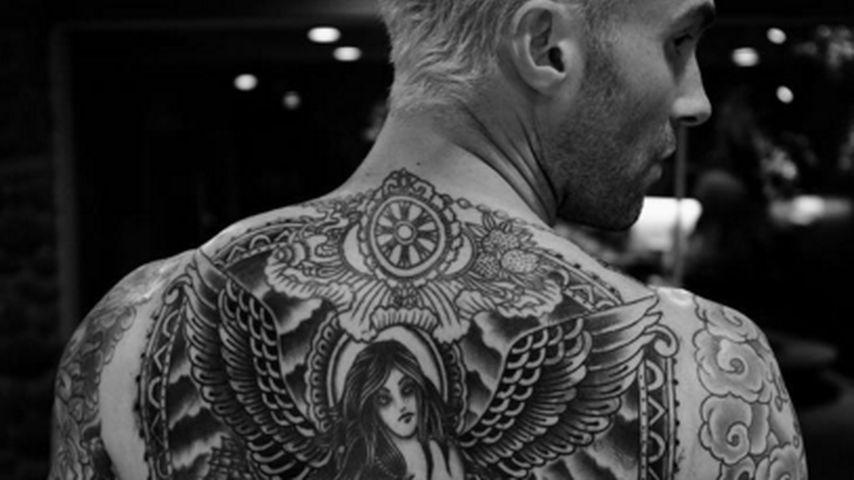 6 Monate Schmerz: Das ist Adam Levines neues Mega-Tattoo!