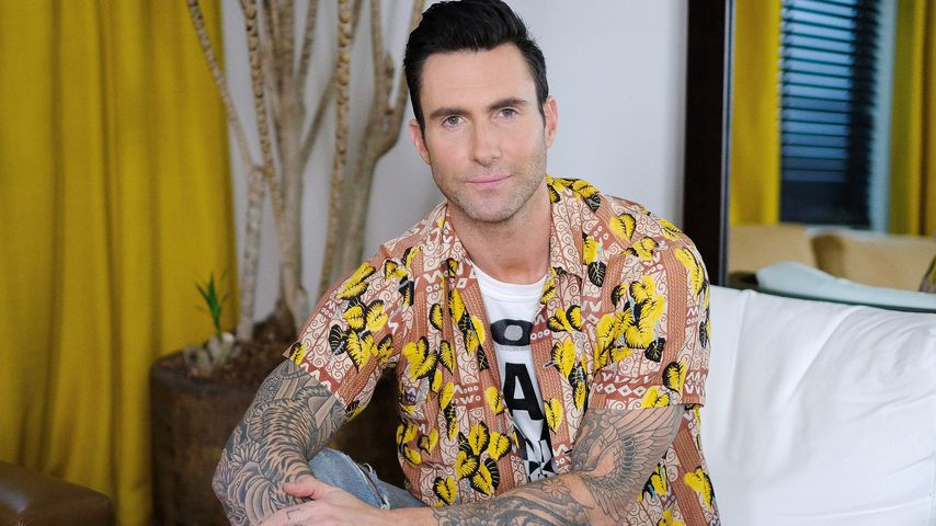 Adam Levine bei einem Pressetermin in New York