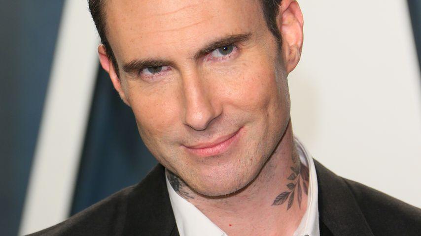 Adam Levine bei der Vanity Fair Oscar Party in Beverly Hills im Februar 2020
