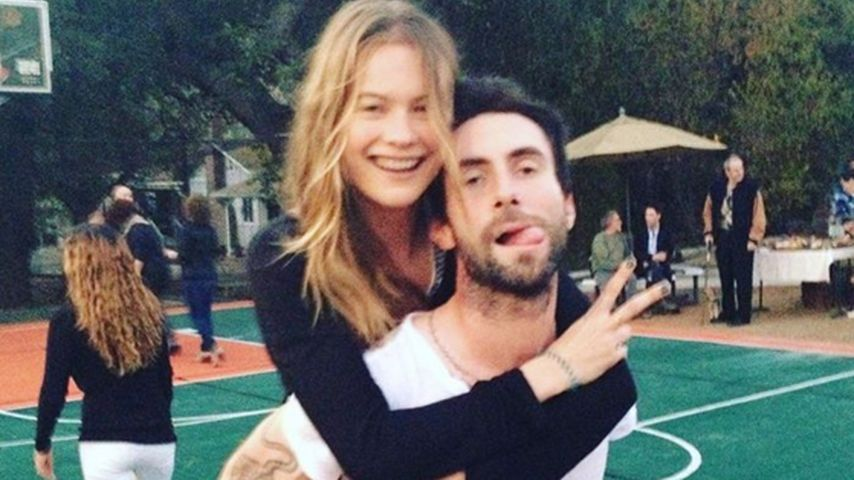 Adam Levine und seine Frau Behati Prinsloo