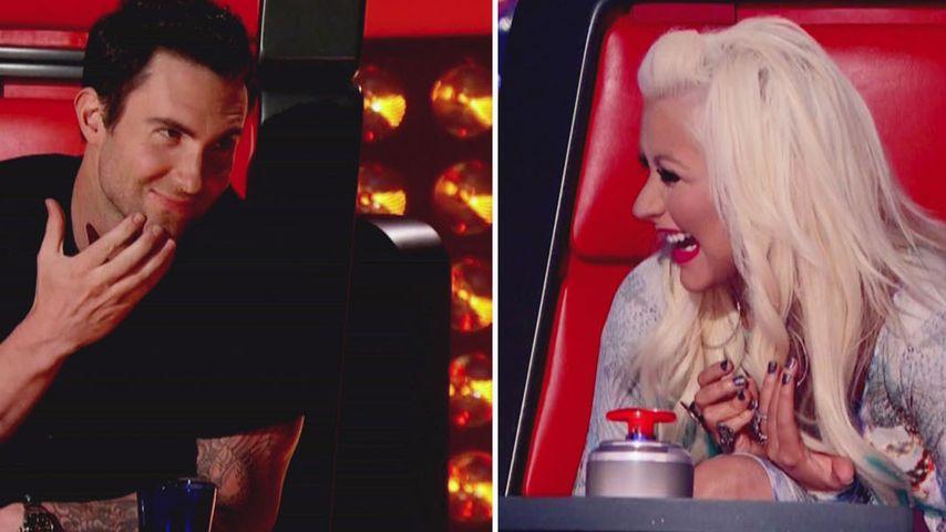Adam Levine: Klare Meinung zu Aguilera-Unterwäsche