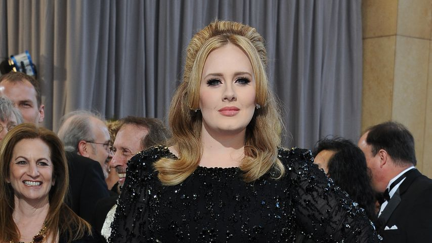 Adele Adkins bei den Oscars im Jahr 2013