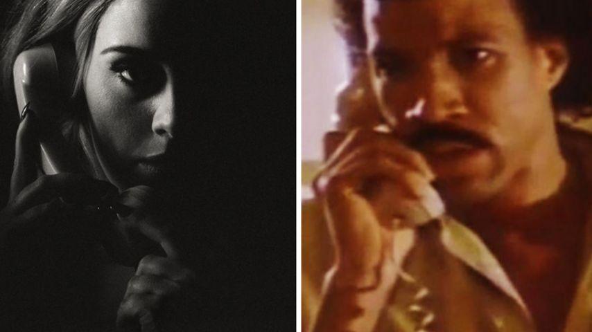"Adele & Lionel Richie: ""Hello""-Mashup-Clip sorgt für Lacher"