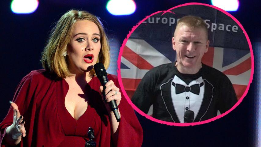 Nicht von dieser Welt: Adele erhält Preis aus dem Weltraum