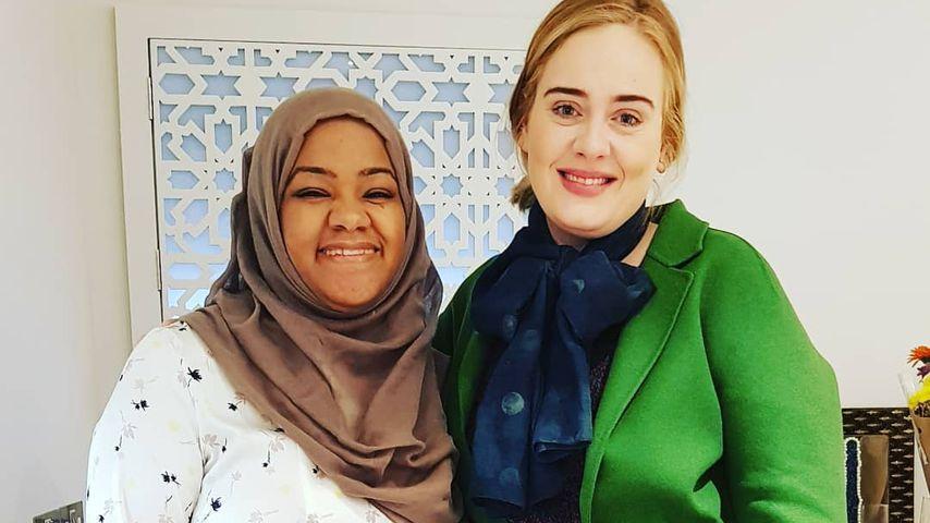 Adele in der Hubb Community Kitchen