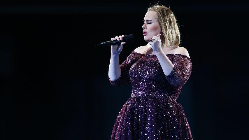 Adele bei einem Konzert in Adelaide
