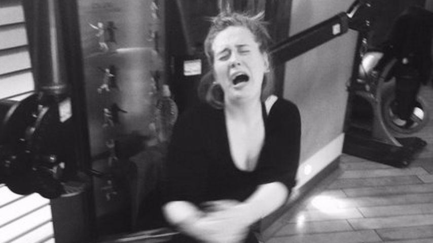 Sport ist Mord? Adele weint beim Workout
