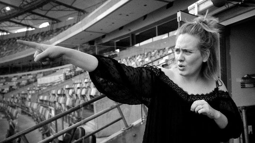 Adele stinksauer bei Konzert! Security bringt sie in Rage