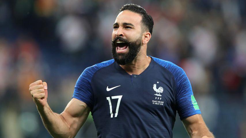 Adil Rami bei der WM 2018