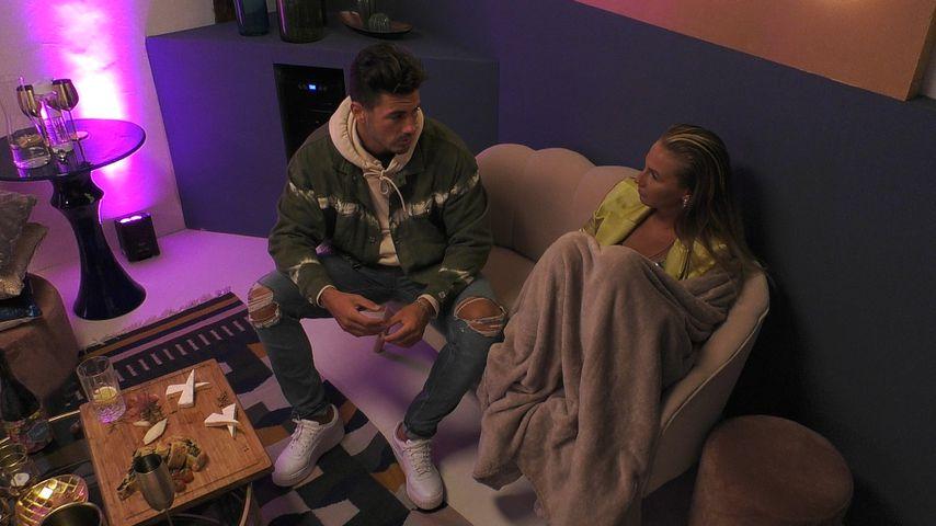 """Adriano und Kathi in der """"Love Island""""-Private-Suite"""