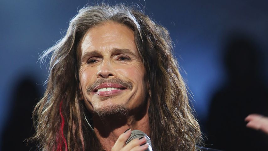 Aerosmith-Sänger Steven Tyler auf der Bühne
