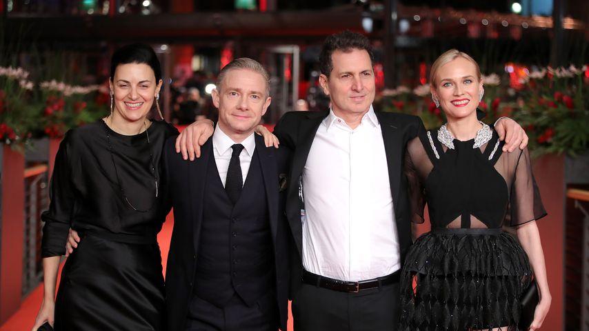 Aglika Dotcheva, Martin Freeman, Yuval Adler und Diane Kruger auf der Berlinale