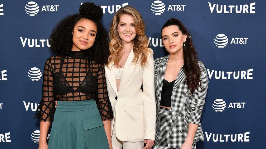 "Aisha Dee, Meghann Fahy and Katie Stevens, ""The Bold Type""-Hauptdarstellerinnen"