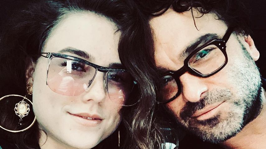 Alaina Meyer und Johnny Galecki