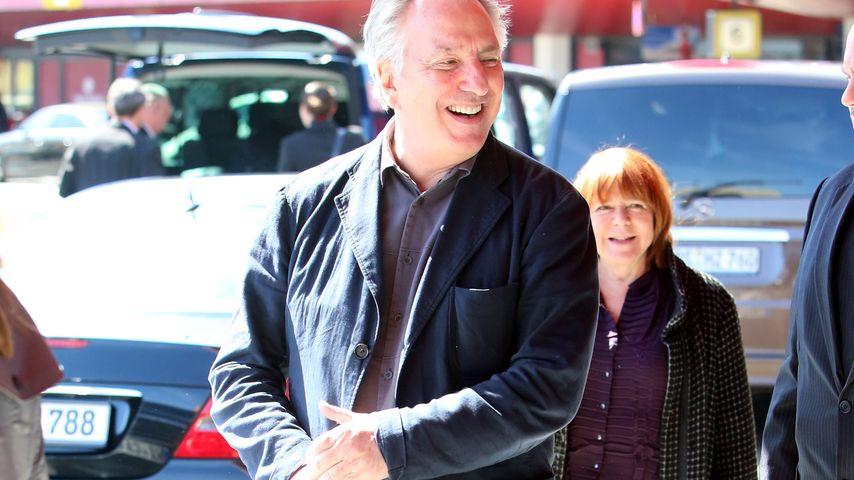 "Alan Rickman: ""Harry Potter""-Star (69) noch total verliebt"