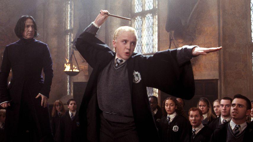 "Alan Rickman und Tom Felton bei ""Harry Potter"""