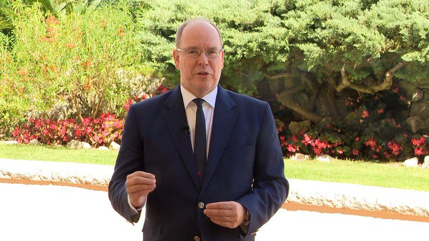 Fürst Albert II. von Monaco in Berlin, September 2020