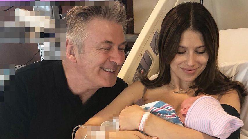 Alec & Hilaria Baldwin: Das Baby ist da