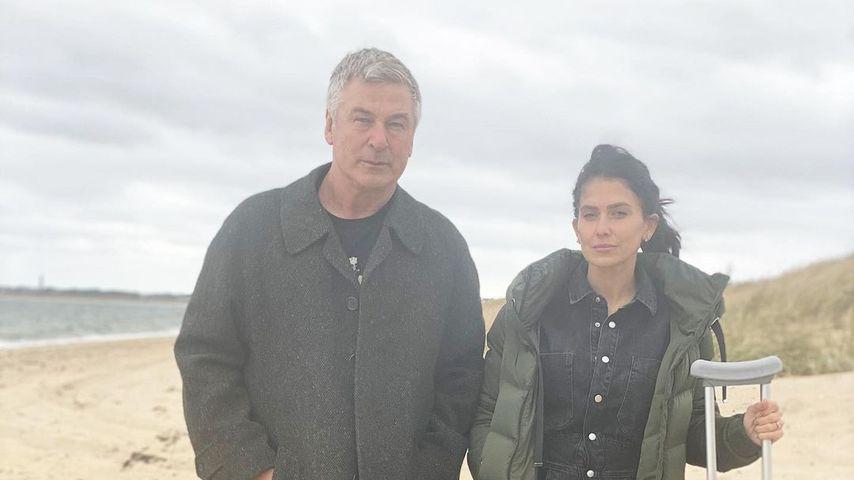 Alec und Hilaria Baldwin im November 2020