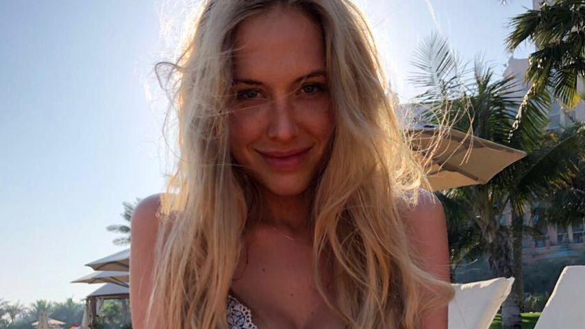 Was für ein After-Baby-Body! Alena Fritz mega-fit im Bikini