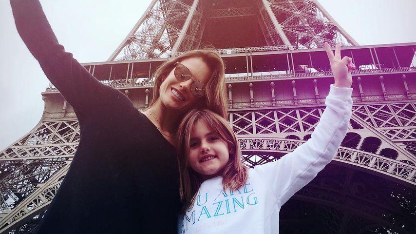 Süßes A-Team: Alessandra reist mit Tochter Anja durch Europa
