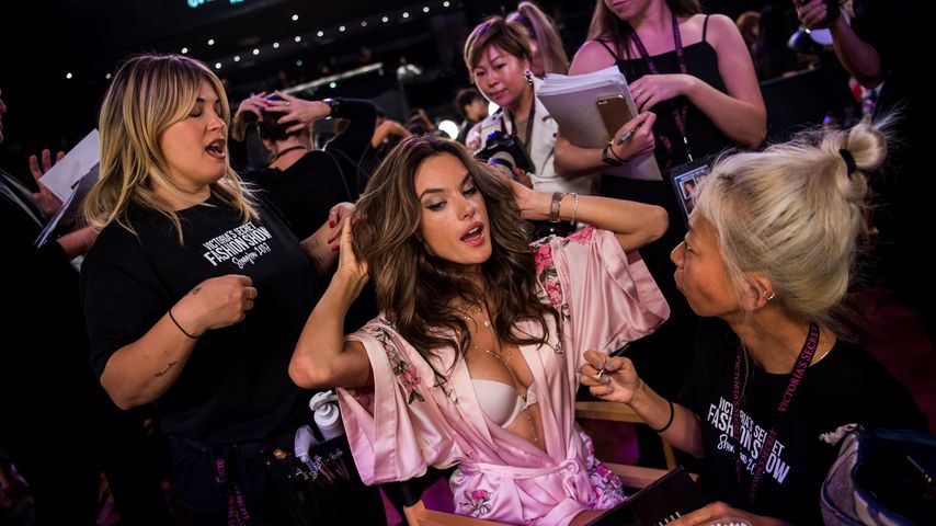 Alessandra Ambrosio vor der diesjährigen Victoria's Secret Fashion Show