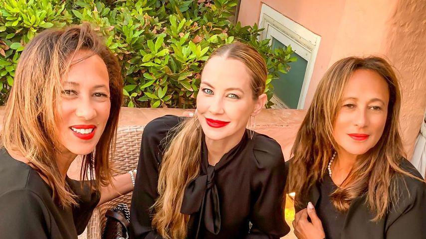 Alessandra Meyer-Wölden zeigt: Ihre Mama gibt's im Doppelpack!