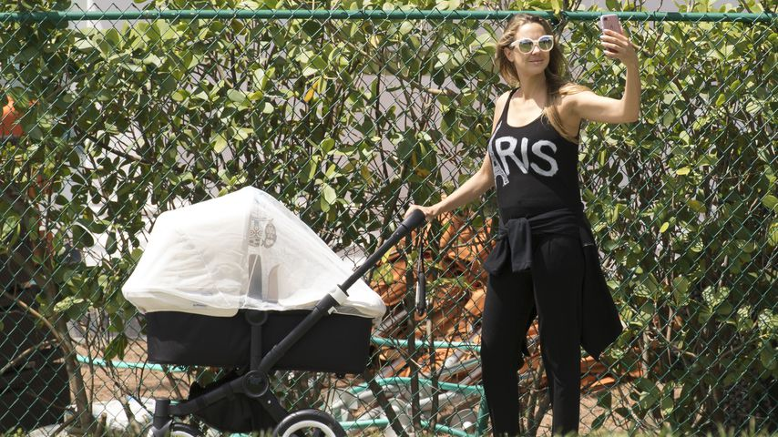 1. Pic! Alessandra Meyer-Wölden nach Twin-Geburt megaschlank