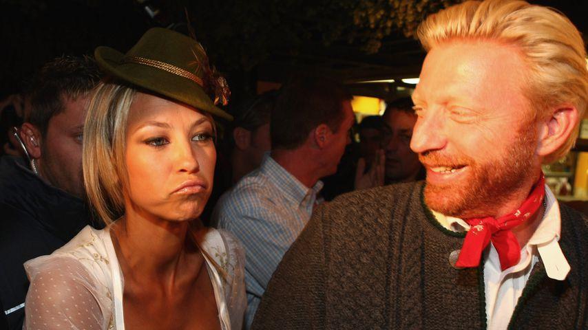 Alessandra Meyer-Wölden und Boris Becker auf dem Oktoberfest 2008