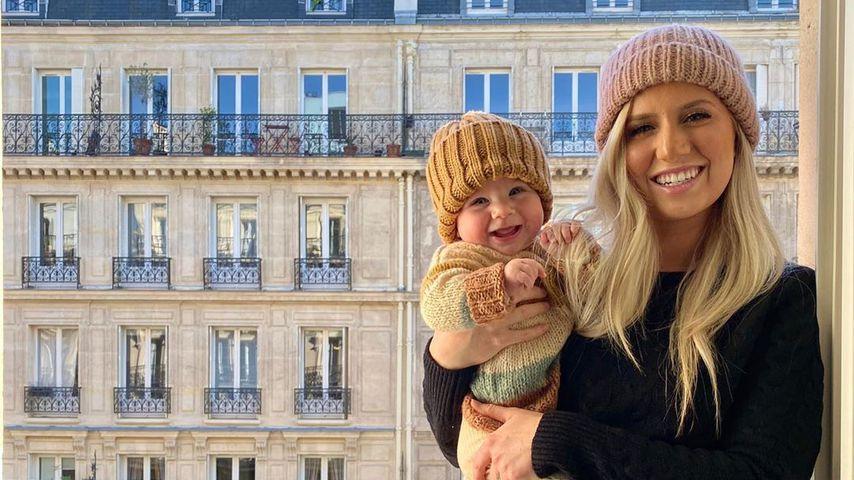 Alessi Ren Luyendyk und Mama Lauren Luyendyk im Mai 2020