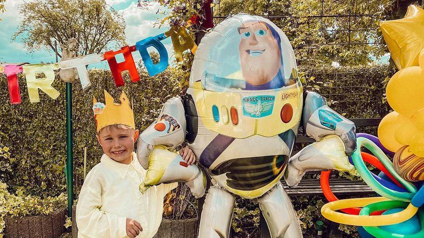 Zum fünften Geburtstag: Alessio Lombardi bekommt Mega-Party