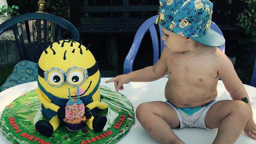 Alessio Lombardi an seinem 2. Geburtstag