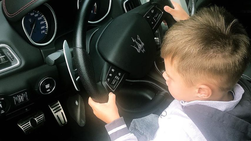 Spritztour mit Papa? Alessio Lombardi möchte selbst fahren!