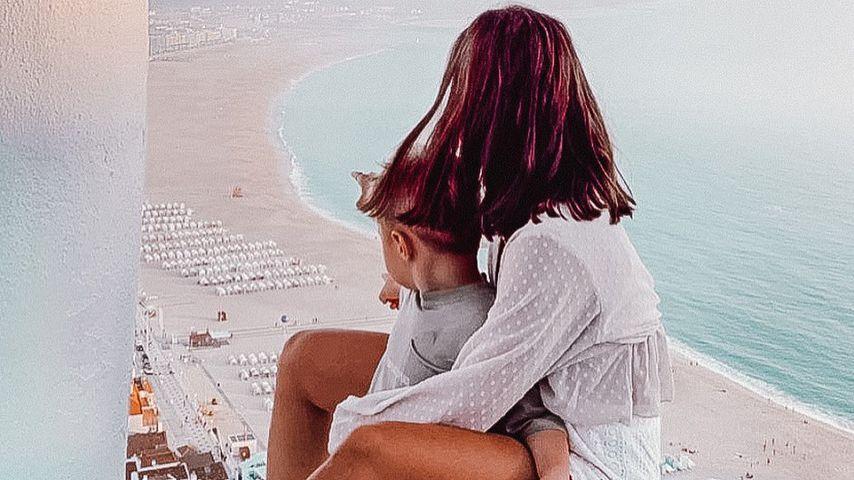 Alessio und Sarah Lombardi in Portugal