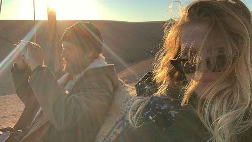 Alex Pettyfer und Toni Garrn