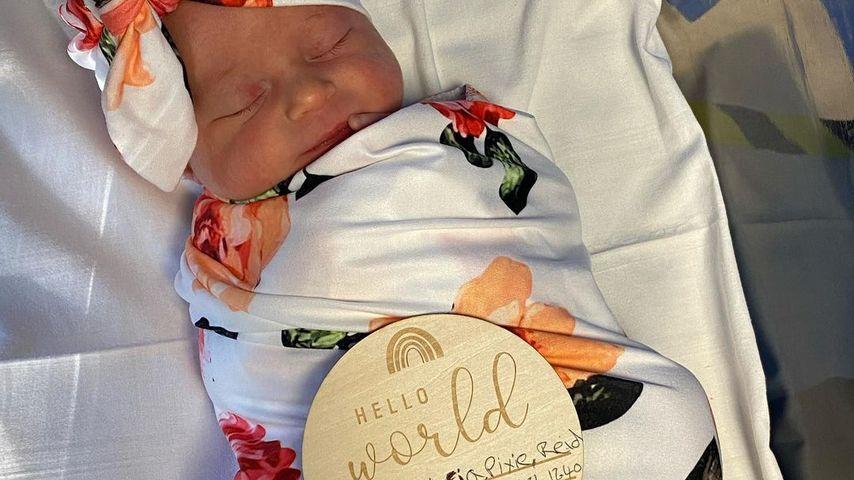 Alex Reids Tochter Anastasia Pixie