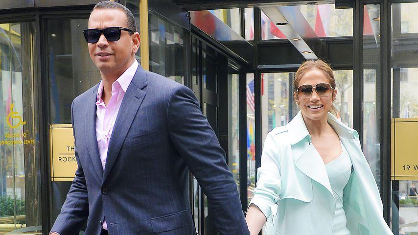 Hand in Hand durch New York: J.Lo & A-Rod zeigen ihr Glück!