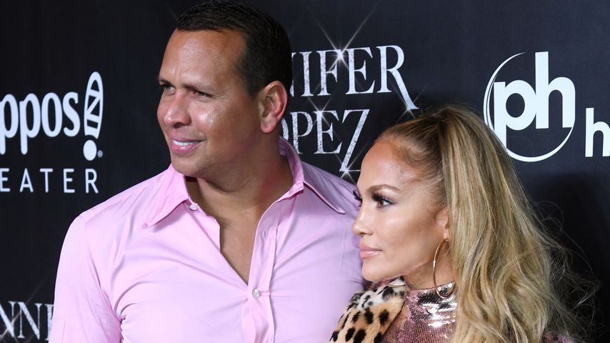 Alex Rodriguez und Jennifer Lopez im Planet Hollywood Resort & Casino