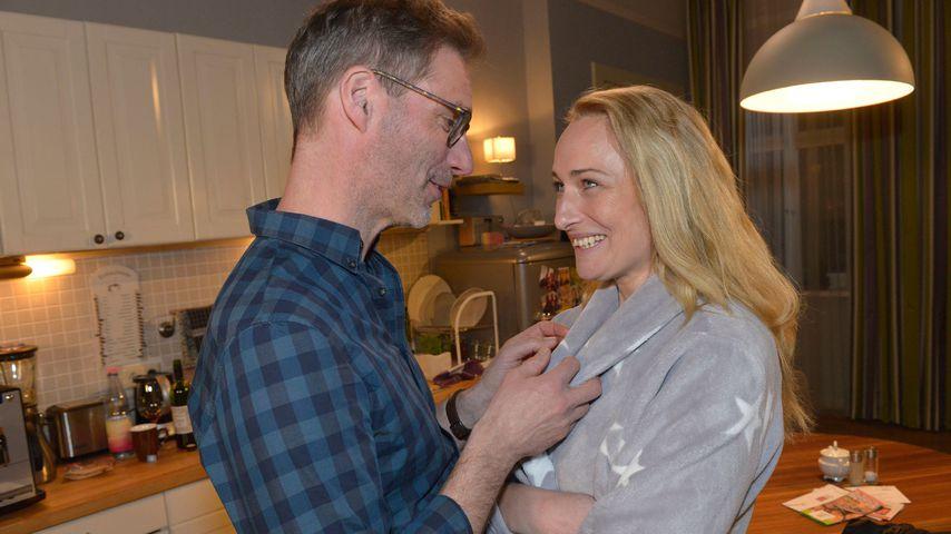 Alexander (Clemens Löhr) und Maren (Eva Mona Rodekirchen) bei GZSZ