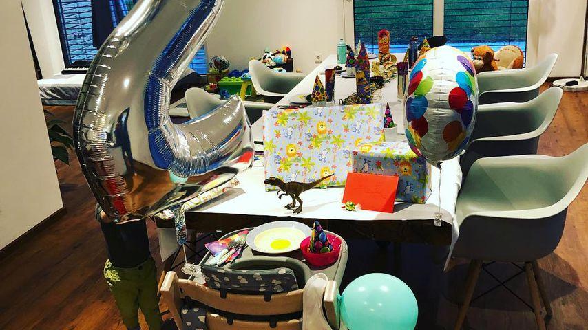 Alexander Klaws' Sohn Lennys zweiter Geburtstag
