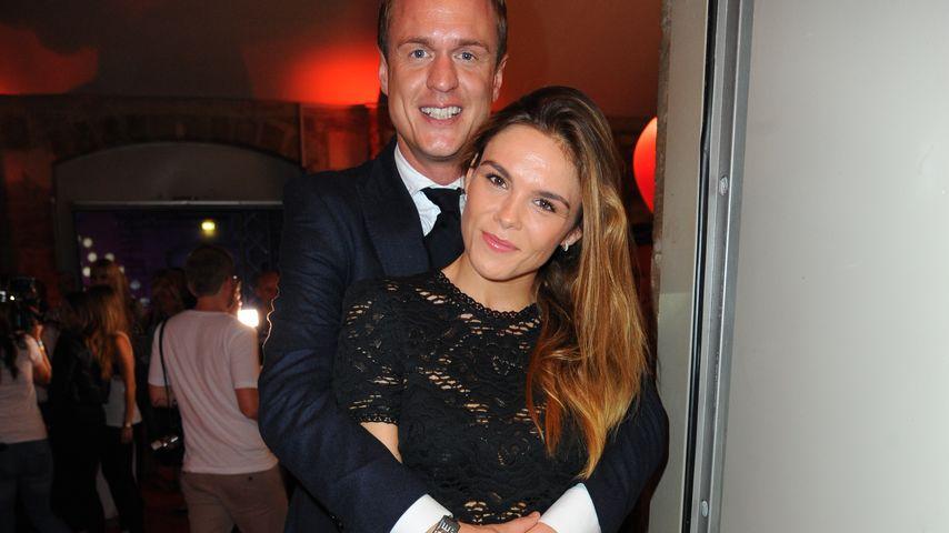 """Angelina und Alexander Posth beim Finale von """"Face of Germany"""""""