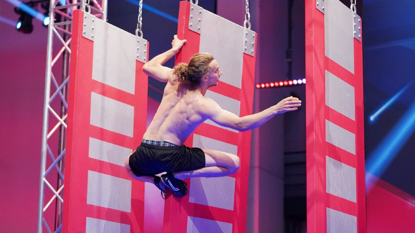 "Alexander Wurm bei ""Ninja Warrior Germany - 4 Nationen Special"""