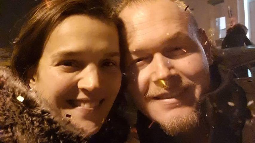 Alexandra Gregus und ihr Verlobter Marc