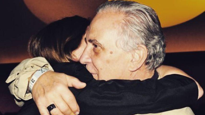 Alexandra Maria Lara mit ihrem Vater Valentin Plătăreanu
