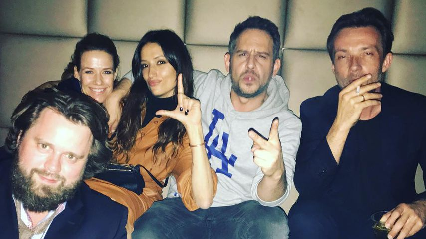 """Alexandra Neldel mit ihren Cast-Kollegen des Films """"Lommbock"""""""