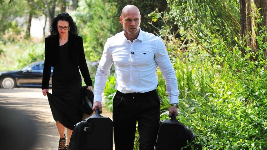 Alexandra und Thorsten Legat beim Einzug ins Sommerhaus