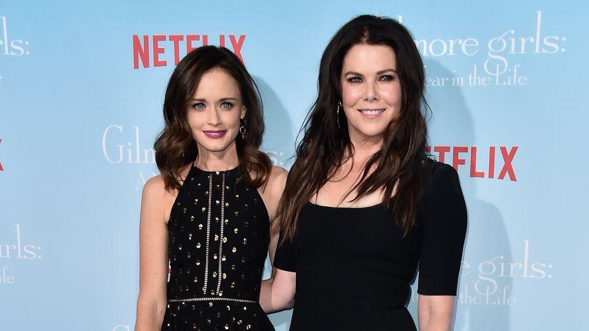 """Alexis Bledel und Lauren Graham, """"Gilmore Girls""""-Darstellerinnen"""